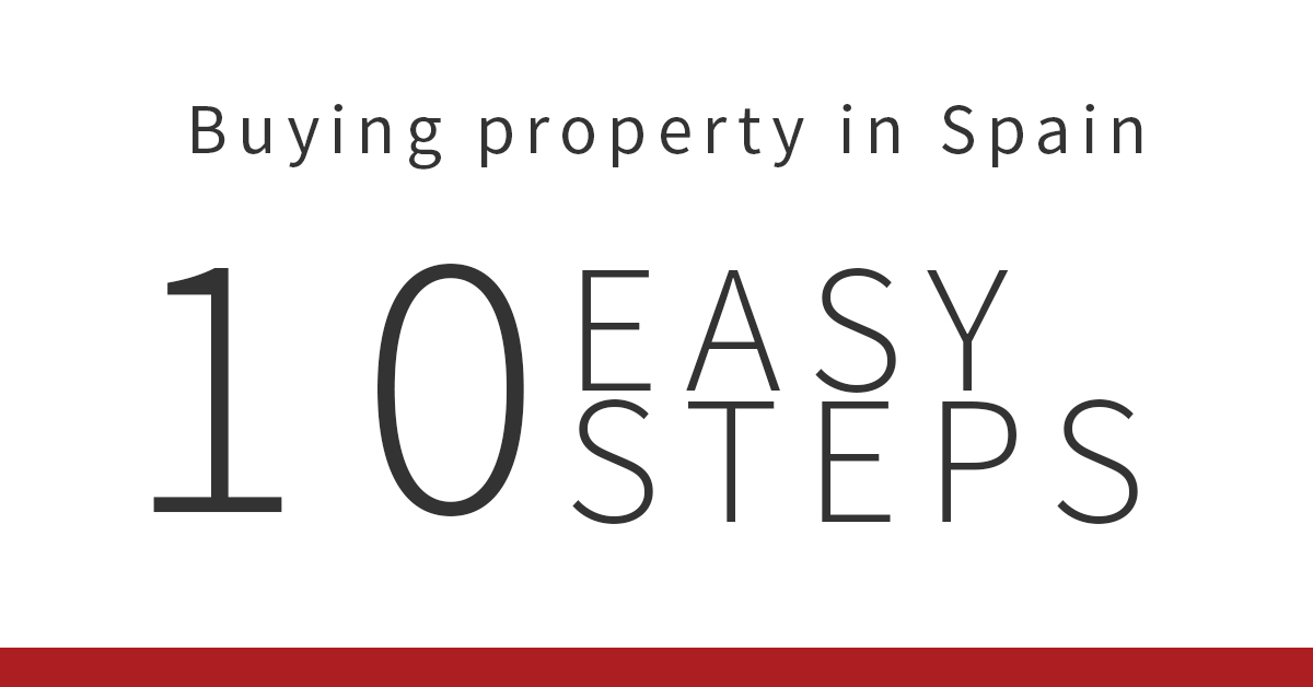 10 easy steps when buying property in Spain